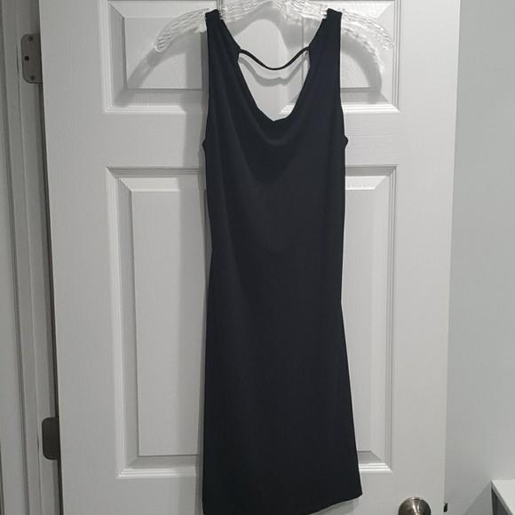 Moda International Dresses & Skirts - Used Vintage Small Little Black Open Back